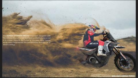 Honda CR Dakar