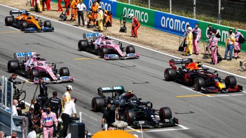 Parrilla F1 2020