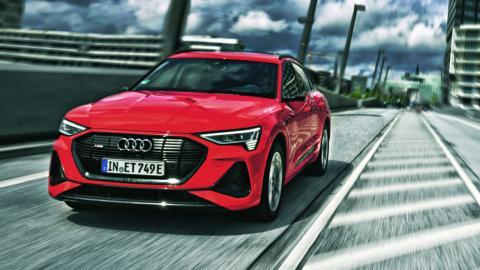 Prueba Audi e-tron Sportback