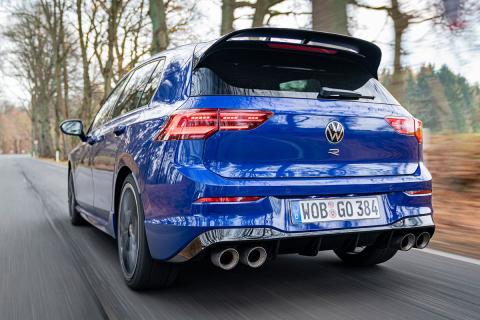 VW Golf R prueba