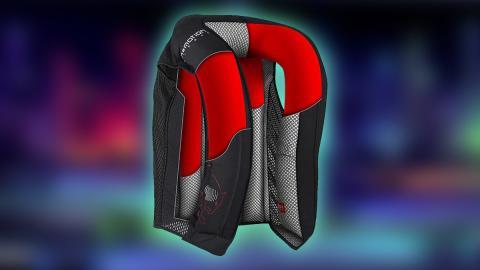 Chaleco con airbag de moto