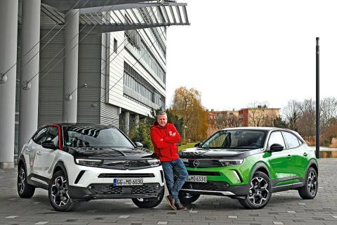Comparativa Opel Mokka-e vs Opel Mokka de gasolina