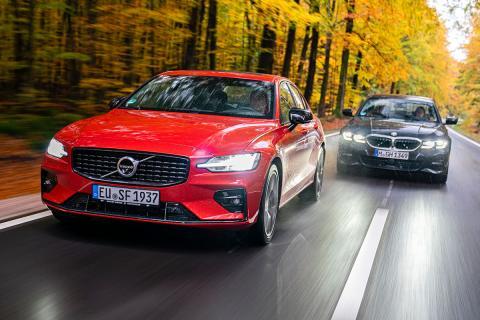 Comparativa del Volvo S60 B4 y el BMW 320i