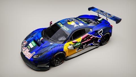 Ferrari DTM Red Bull