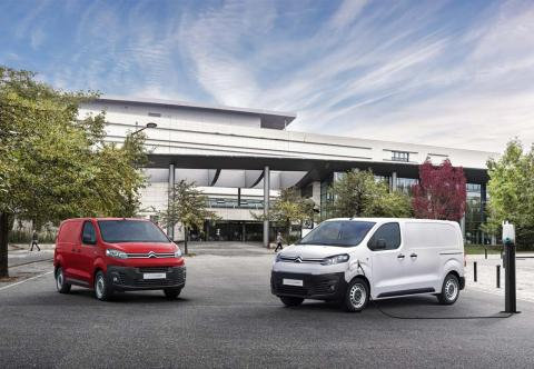 Galería de la Citroën e-Jumpy eléctrica