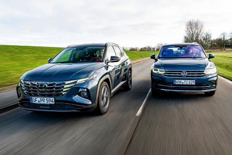 Hyundai Tucson vs VW Tiguan