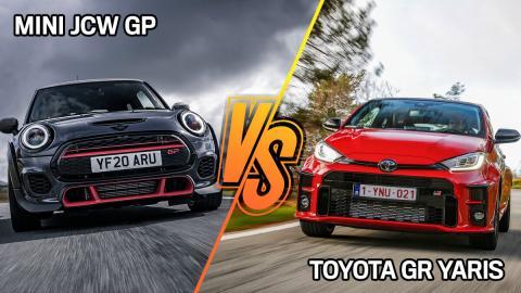 Mini-JCW-GP-vs-Toyota-GR-Yaris