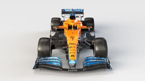 Nuevo McLaren MCL35M