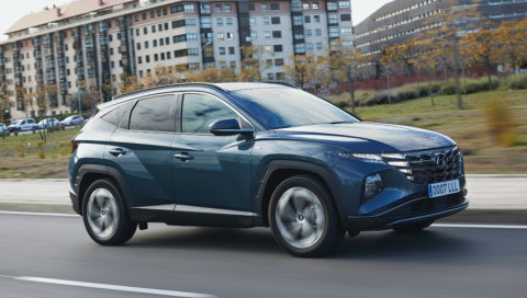 prueba del Hyundai Tucson 1.6 TGDI 230 CV HEV