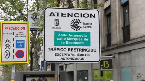 Tres millones de multas de la Zona SER y de Madrid Central podrían ser anuladas