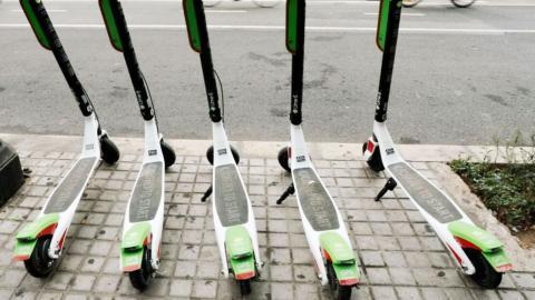 Patinetes eléctricos: Madrid pone más multas en dos semanas que en un año
