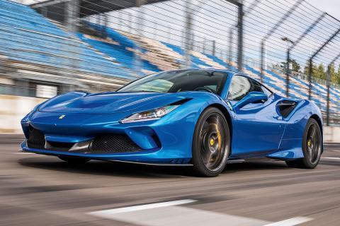 Prueba Ferrari F8 Tributo