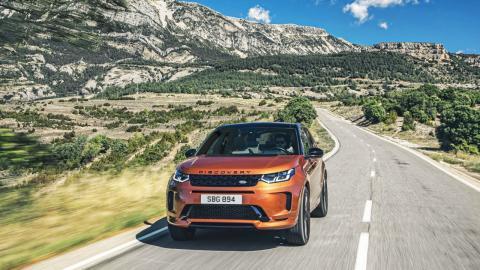 Prueba Land Rover Discovery Sport PHEV