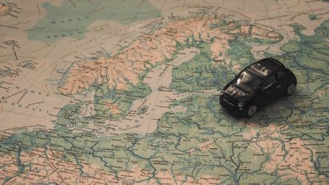coche espana pais europa