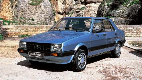 compa oldie seat malaga vs peugeot 505