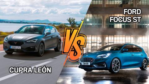 Cupra León o Ford Focus ST, ¿cuál es mejor?