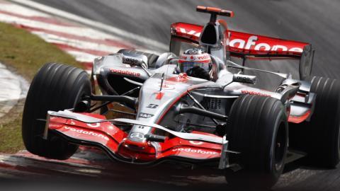 McLaren MP4-22 Fernando Alonso