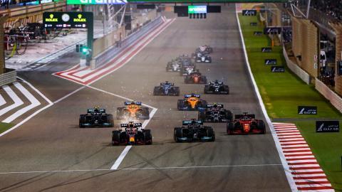 Salida F1 Bahrein