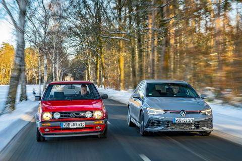 Volkswagen Golf GTI Clubsport vs Golf GTI 16V