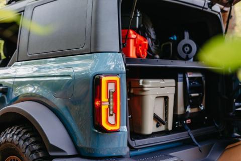 3 prácticos consejos para colocar equipaje Ford Bronco 2