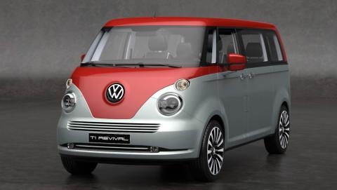El Volkswagen T1 Revival es todo un guiño al modelo T1 original