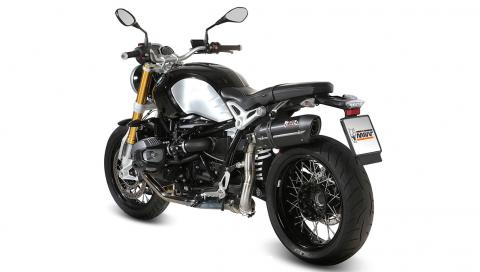 BMW R NineT con escapes MIVV -- Motos -- Autobild es