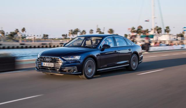 Prueba Audi A8 2017