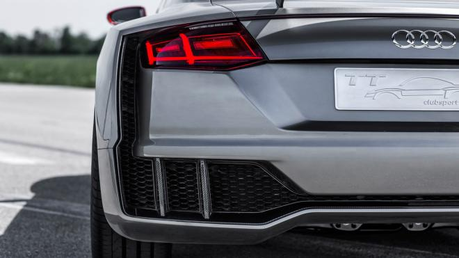 Audi TT Clubsport Turbo faro trasero