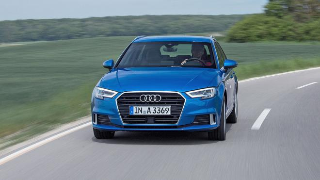 Audi A3 2016 frontal