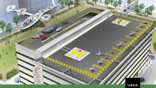El coche volador de Uber llegaría en 2020