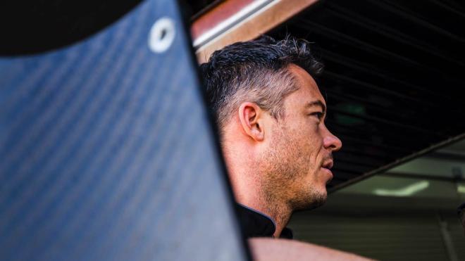 André Lotterer en los entrenamientos de la Fórmula E en Valencia