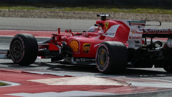 Vettel, en los Libres 3 del GP EEUU F1 2017