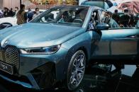 BMW iX en Shanghai