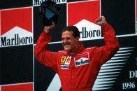 Michael Schumacher podio