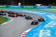 Salida GP España F1 2021