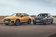 BMW X4 vs Audi SQ5 Sportback