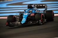Fernando Alonso en el GP de Francia de F1