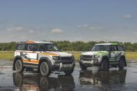 Land Rover Defender Rally Bowler