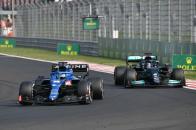 Lucha Alonso y Hamilton