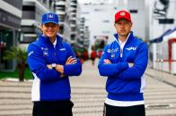 Mick Schumacher y Nikita Mazepin, Haas F1