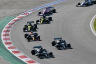 Salida GP Rusia F1 2020