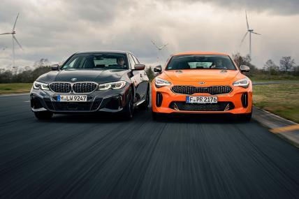 Kia Stinger vs BMW Serie 3