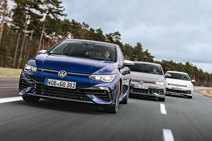 Volkswagen GTI, GTI Clubsport y Golf R