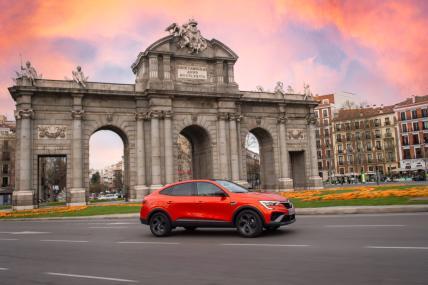 Prueba Renault Arkana hibrido