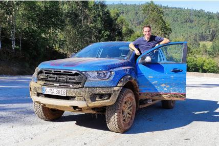 Conducimos las versiones más radicales del Ford Ranger: Stormtrack, Wolftrack y Raptor SE