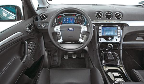 Ford S-Max 2.0 TDCI salpicadero