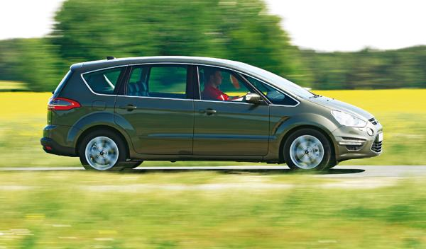 Ford S-Max 2.0 TDCI lateral