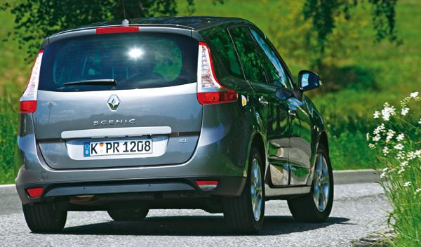 Renault Grand Scénic 2.0 dCi trasera
