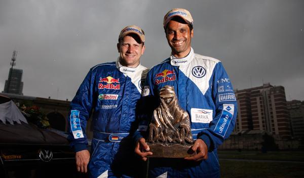 Nasser Al-Attiyah ganador Dakar 2011