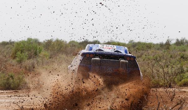 Carlos Sainz Dakar 2011